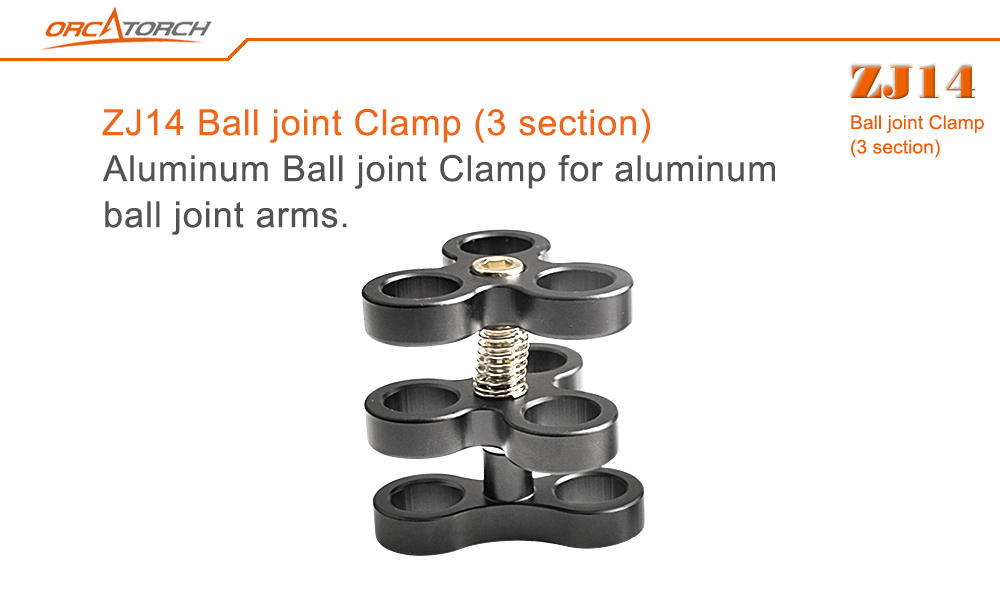 Orcatorch Ball joint clamp 3