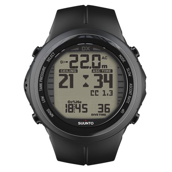 Suunto DX Black Elastomer