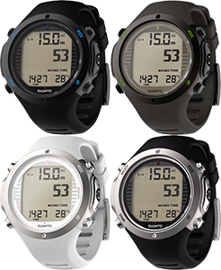 Suunto D6 i Black / White
