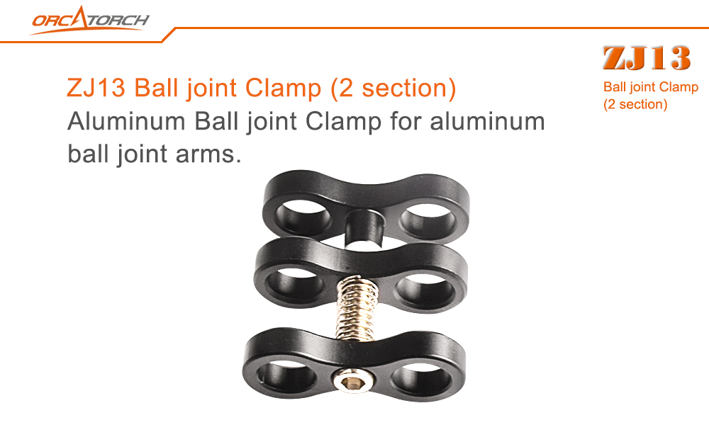 Orcatorch Ball joint  clamp 2