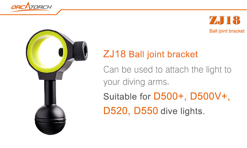 Orcatorch Ball joint bracket