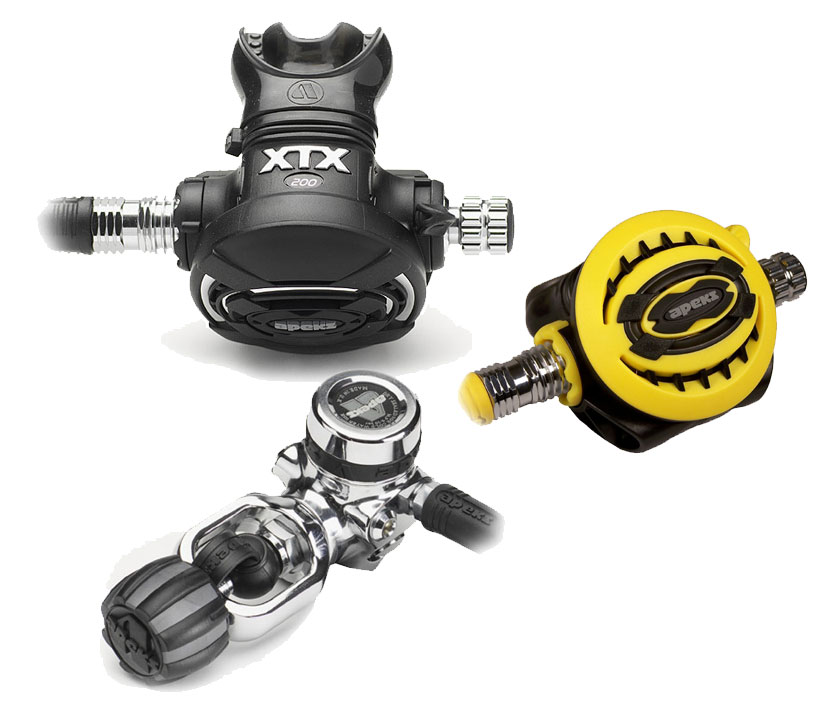 Apeks xtx 200+xtx 50 regulator set